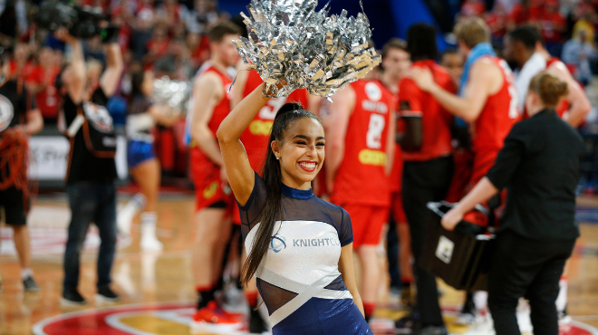 Knightcorp re-signs as sponsor of the Perth Wildcats Knightcorp Dancers